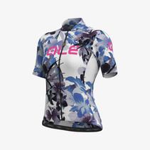 Women Jersey Short Sleeves Solid Bouquet