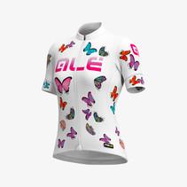 Dames Fietsshirt Korte Mouwen PRR Butterfly