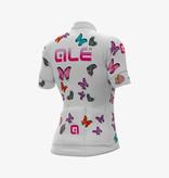 ALE Ale Dames Fietsshirt Korte Mouwen PRR Butterfly