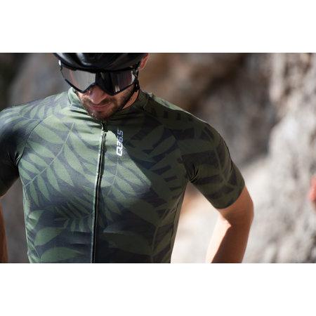 Q36.5 Q36.5 Fietsshirt Korte Mouwen R2 Jungle Groen