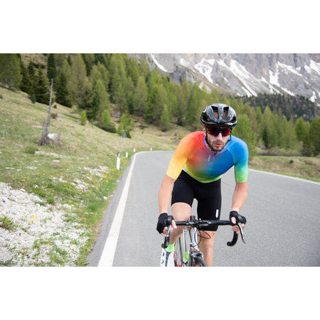 Q36.5 Q36.5 Fietsshirt Korte Mouwen R2 Good Vibes Multicolor