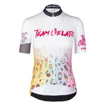 Dames Fietsshirt Korte Mouwen G1 Team Gelato