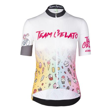 Q36.5 Q36.5 Dames Fietsshirt Korte Mouwen G1 Team Gelato