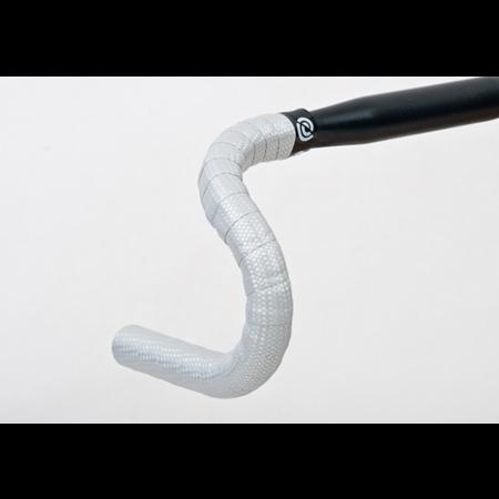 BikeRibbon BikeRibbon Stuurlint Cork Carbon Zilver