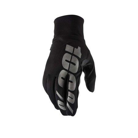 100% 100% Cycling gloves MTB HYDROMATIC Waterproof Black