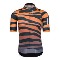 Fietsshirt Korte Mouwen R2 Tiger Oranje