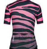 Q36.5 Q36.5 Dames Fietsshirt Korte Mouwen G1 Tiger Roze