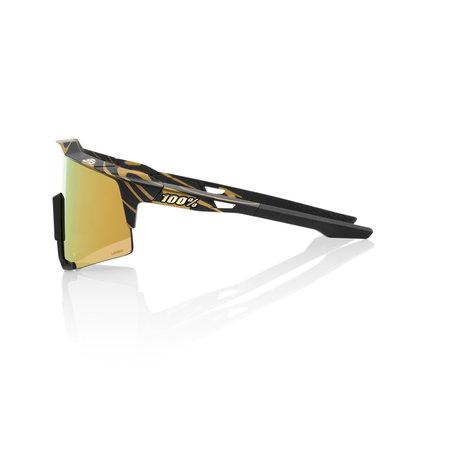 100% 100% Speedcraft - Peter Sagan Limited Edition - Matte Metallic Gold Flake