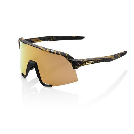 100% 100% S3 - Peter Sagan Limited Edition - Matte Metallic Gold Flake
