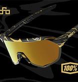 100% 100% S2 - Peter Sagan Limited Edition - Matte Metallic Gold Flake
