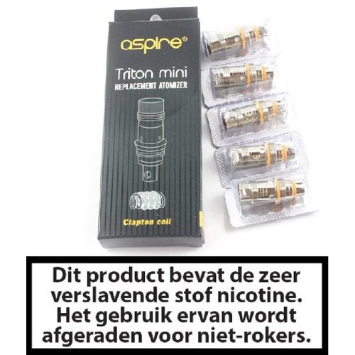 Triton Mini / Nautilus Mini Clapton coils