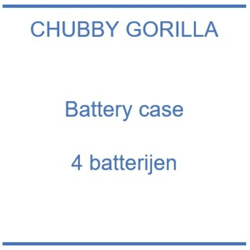 Chubby Gorilla Battery case 4pcs