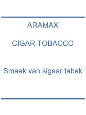 Cigar Tobacco