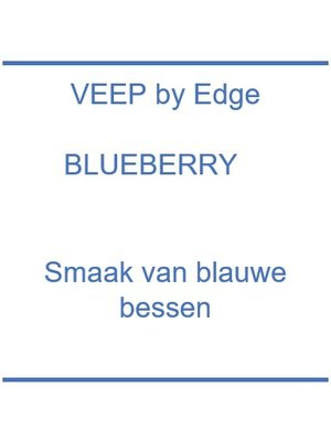 Veep by Edge Blue Berry