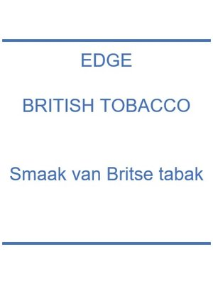Edge British Tobacco
