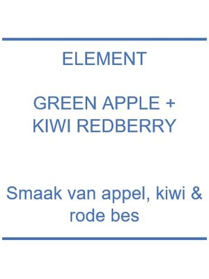 Element Green Apple Kiwi Redberry