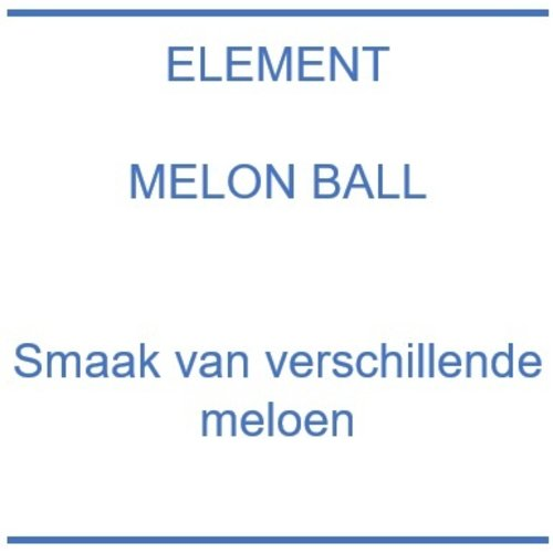 Element Melon Ball