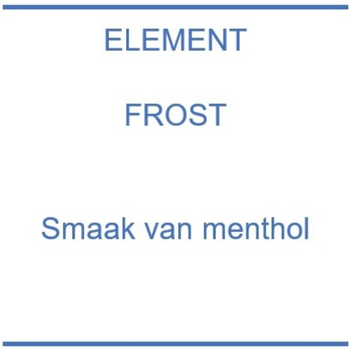 Element Frost