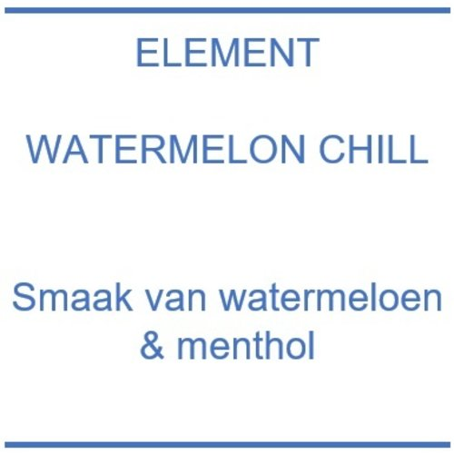 Element Watermelon Chill
