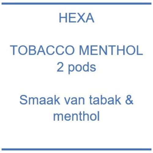 Hexa Pod - Tobacco Menthol