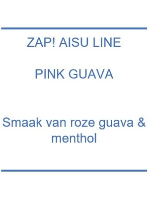 Zap! Aisu Line Pink Guava