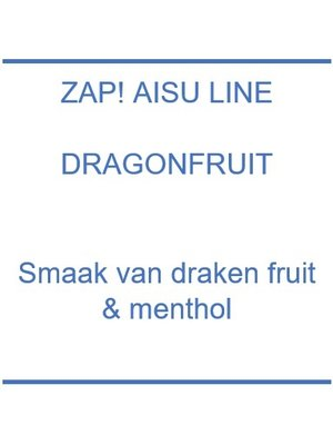 Zap! Aisu Line Dragon Fruit