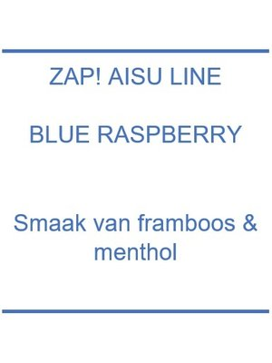 Zap! Aisu Line Blue Raspberry