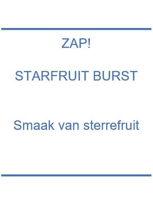 Zap! Starfruit Burst