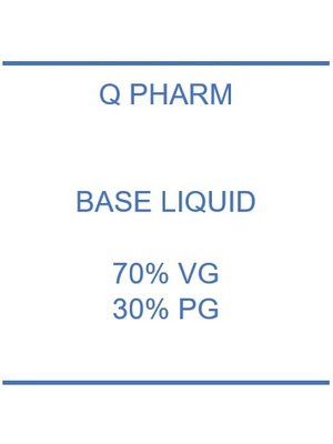 Base 30% PG - 70% VG