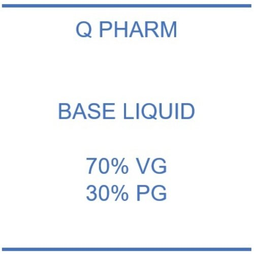 Q Pharm Base 30% PG - 70% VG