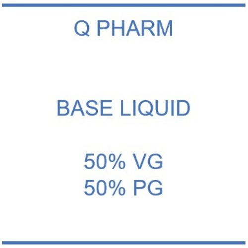 Q Pharm Booster 50% PG - 50% VG