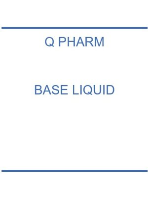 Q Pharm Base/Booster 10ml