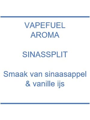 Vapefuel Aroma - Sinassplit