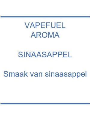Vapefuel Aroma - Sinaasappel