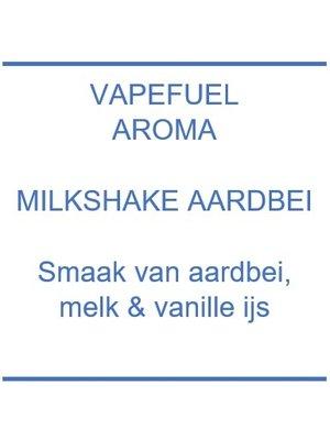 Vapefuel Aroma - Milkshake Aardbei