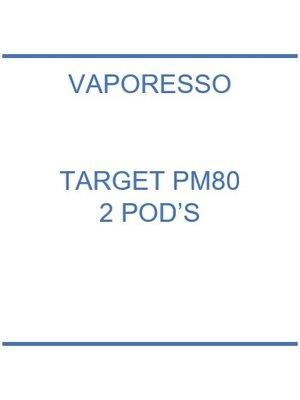 Vaporesso Target PM80 Pod's