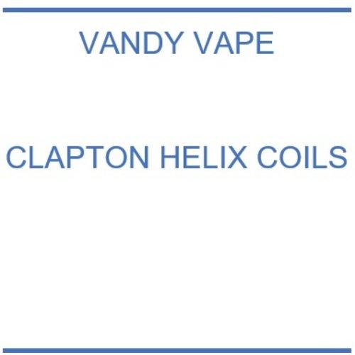 Vandy Vape Clapton Helix coils  - 10 stuks
