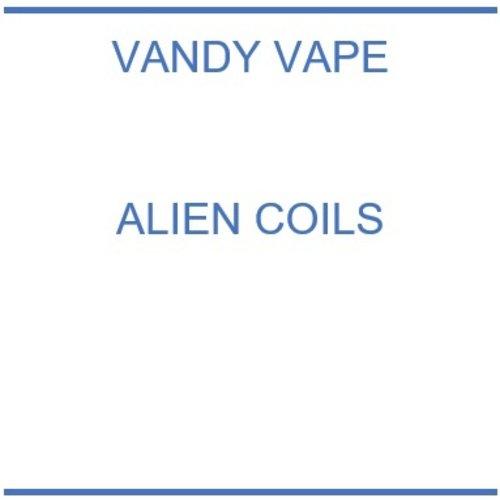Vandy Vape Alien coils  - 10 stuks