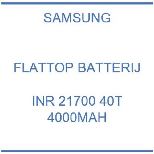 Samsung INR 21700 40T 4000mAh Flattop Batterij