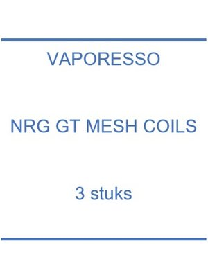 NRG GT Mesh coils