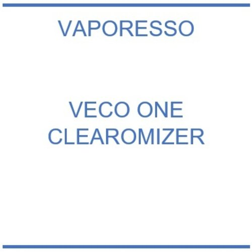 Vaporesso Veco One clearomizer