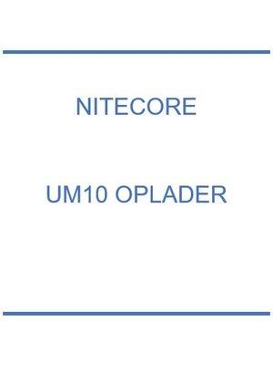 UM10 oplader