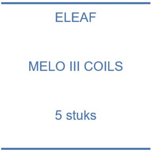 Melo III coils (5 st.)