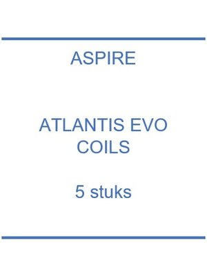 Atlantis EVO coils (5 st.)