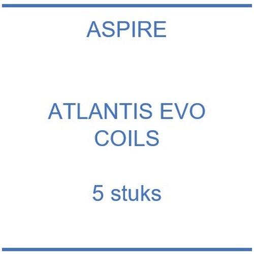 Atlantis EVO coils