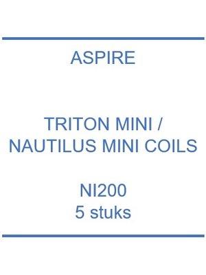 Triton Mini / Nautilus Mini Ni200 coils