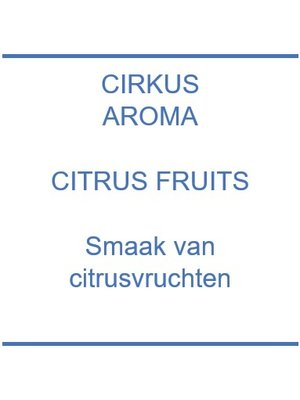 Aroma - Citrus Fruits