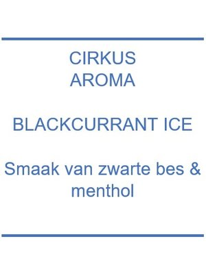 Aroma - Blackcurrant Ice