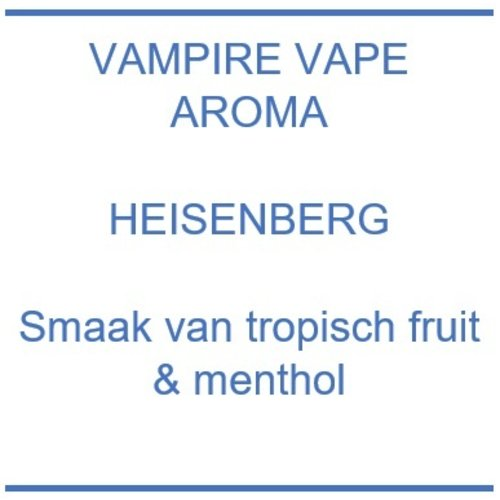 Aroma - Heisenberg