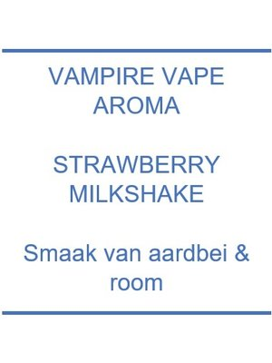 Aroma - Strawberry Milkshake